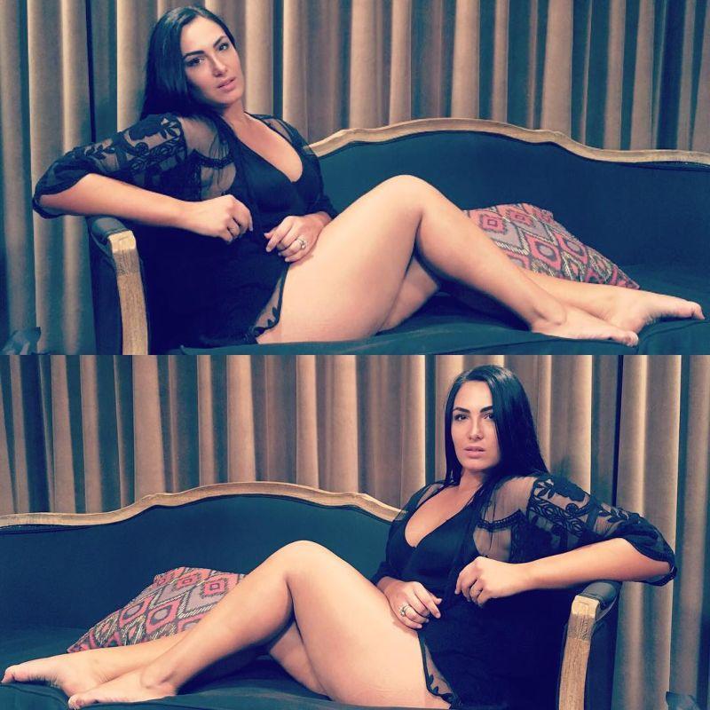 Arissa Le Brock | фигуристая дочь Стивена Сигала