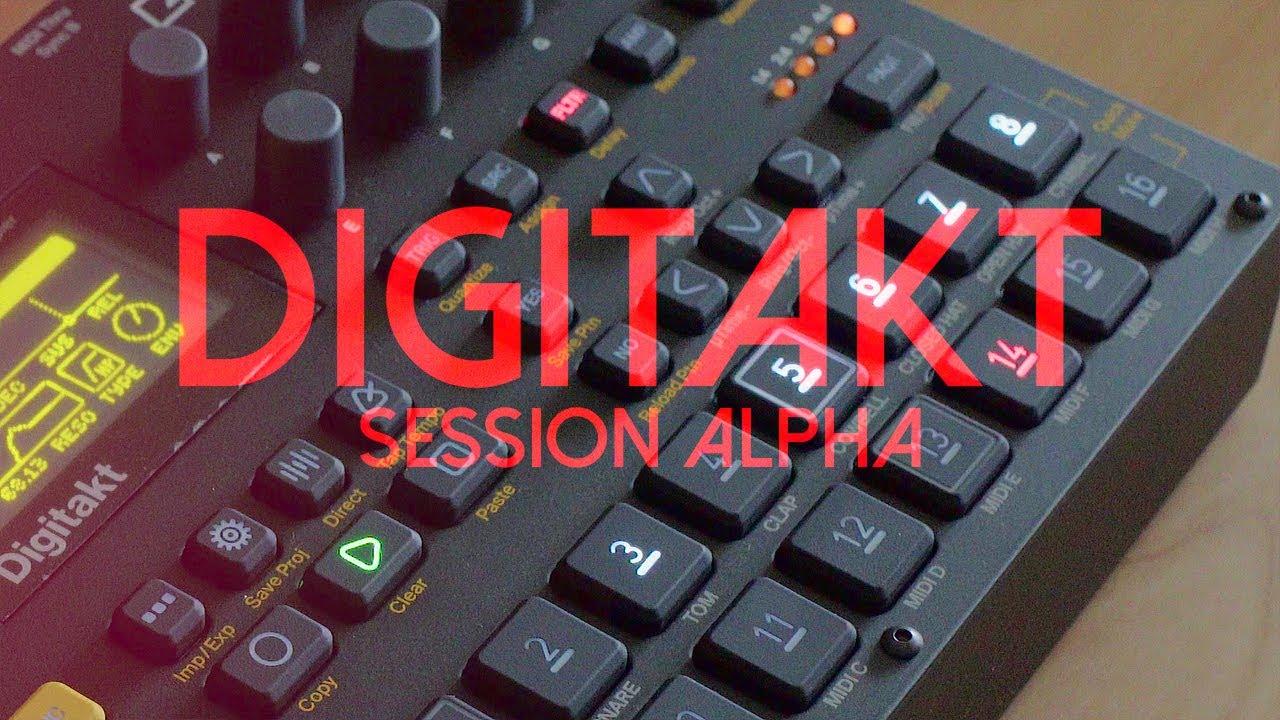 Digitakt - Session Alpha / Elektron - машины, которые делают музыку!