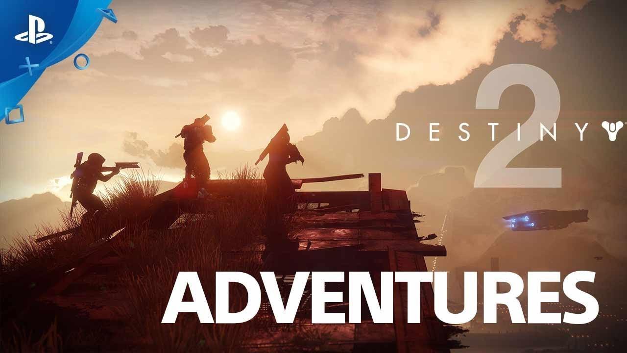 Destiny 2 - Откройте «Приключения» | PS4