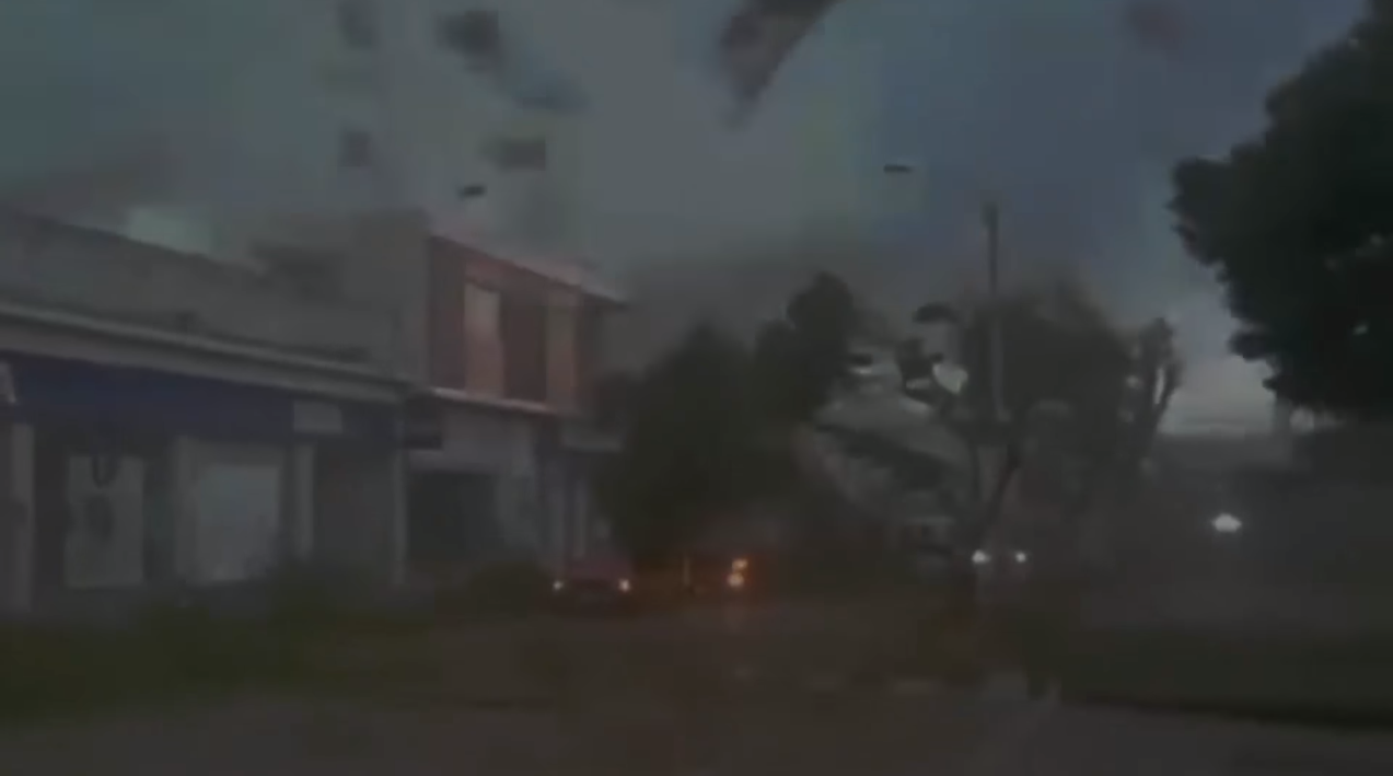 Разрушающий ураган Ирма в США. The devastating hurricane Irma in the United States.
