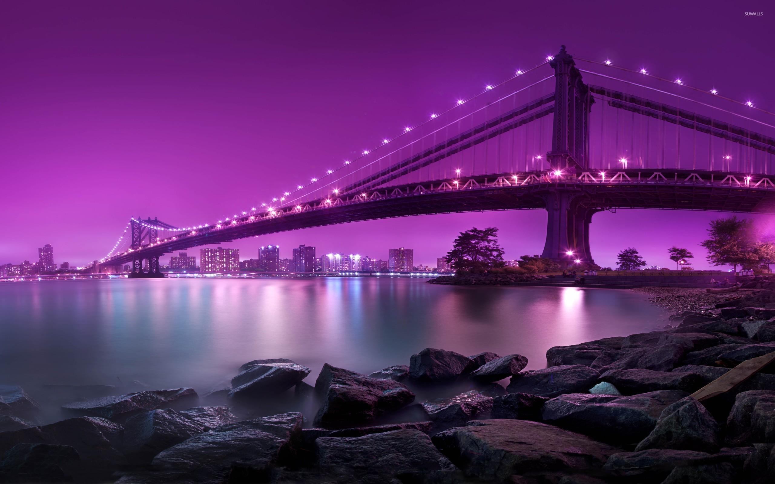 Манхэттенский мост, Нью-Йорк, США.