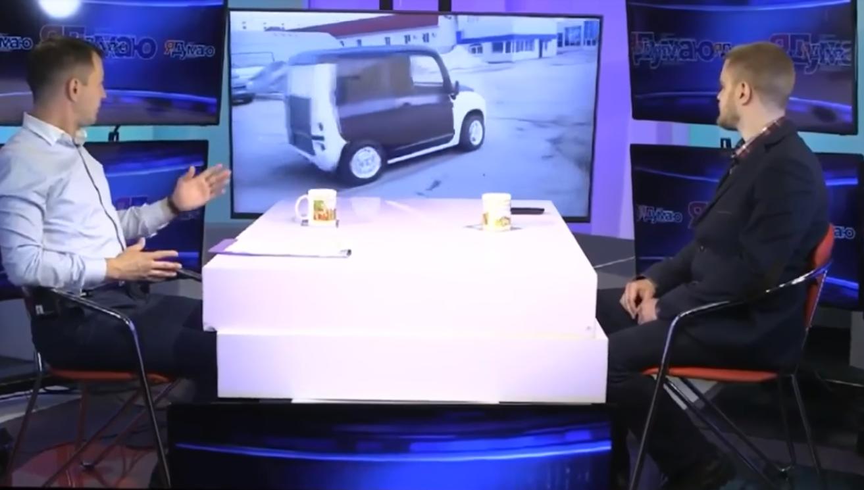 Евгений Дуюнов рассказал об электромобиле El Panda