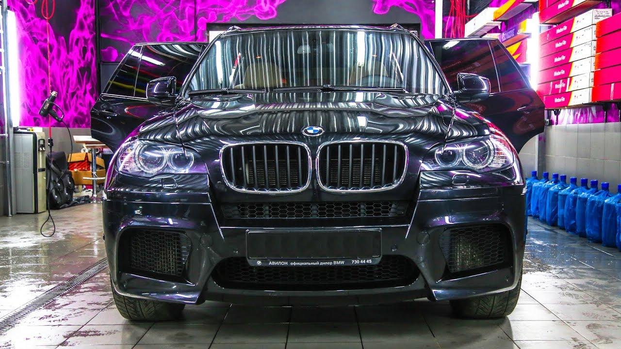 Первый ТЮНИНГ BMW X5M. Двойные СТЁКЛА