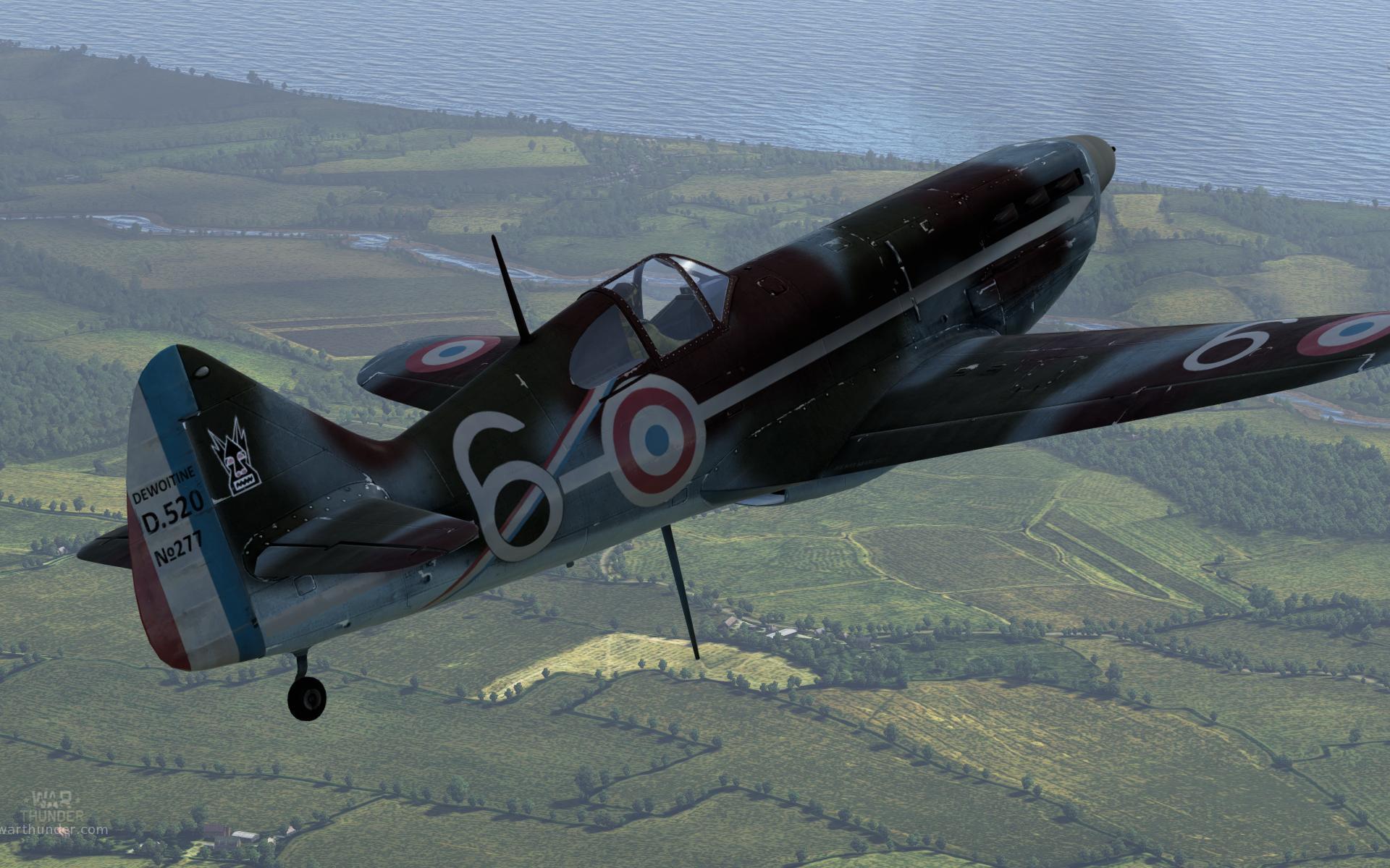 В игре War Thunder скоро появятся Французские самолеты