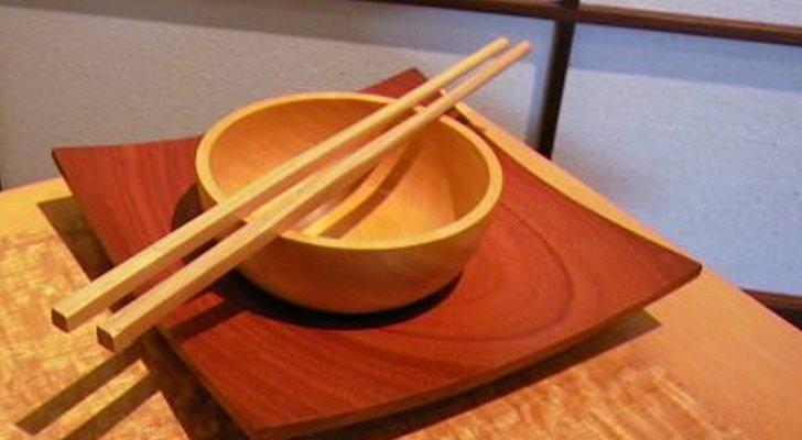 Как делают Китайские палочки для еды