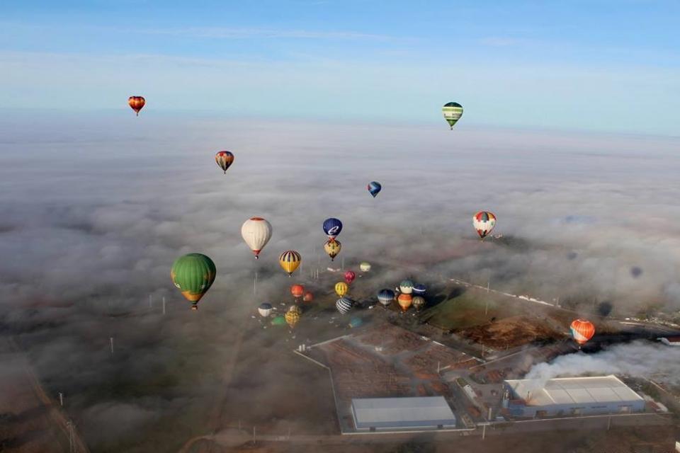 В Португалии пройдет «21-ый Международный фестиваль воздушных шаров»