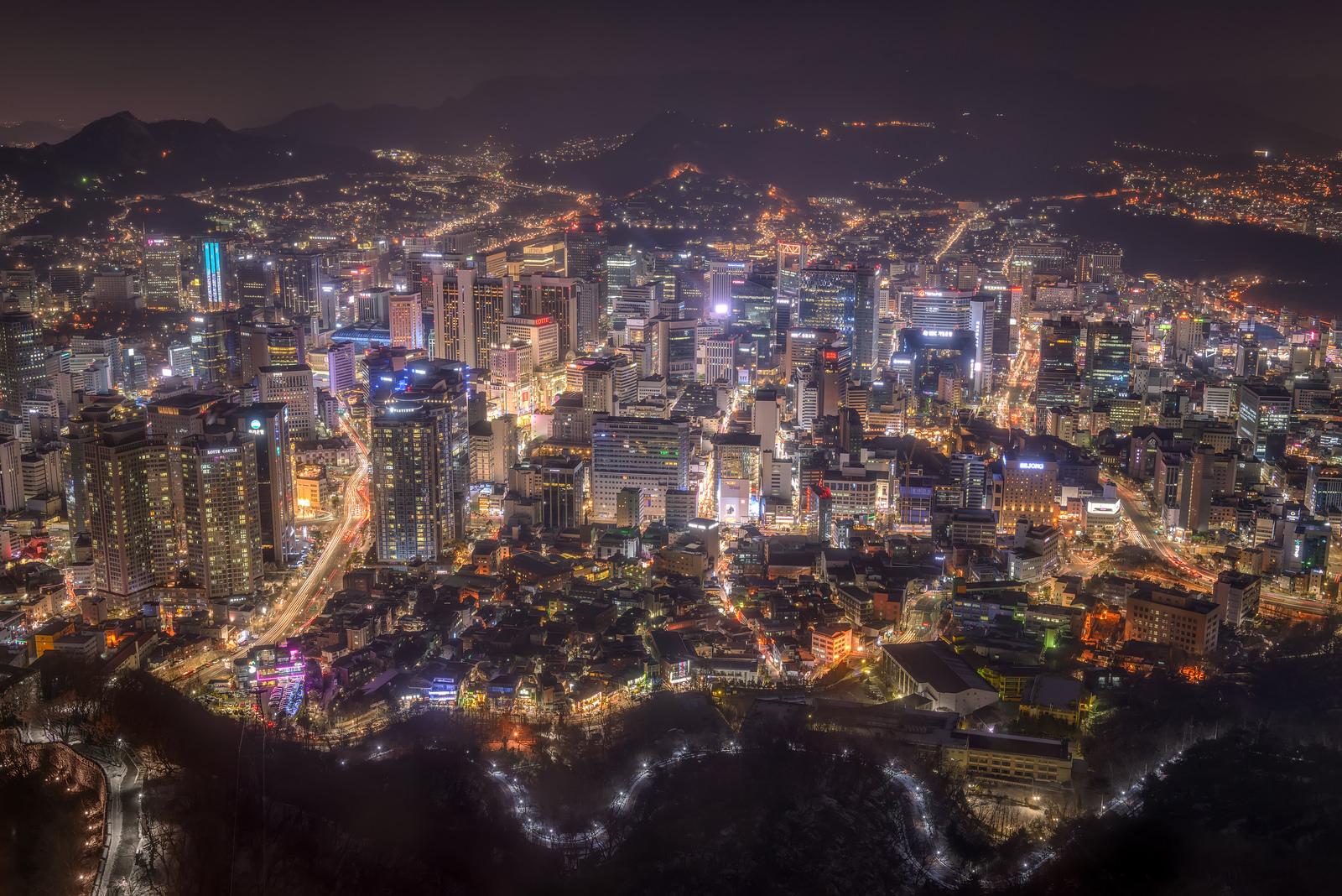 Сегодня мы посмотрим на город Сеул в Южной Корее (22 фото)