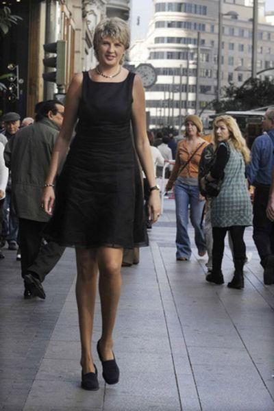 Самые высокие девушки (49 фото)