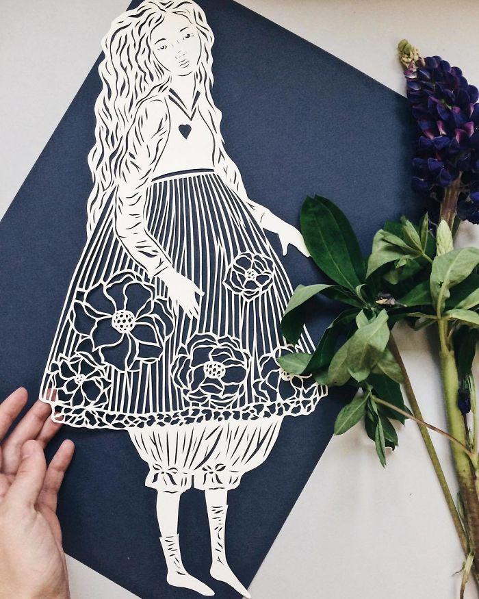 Красивые картинки вырезать из бумаги