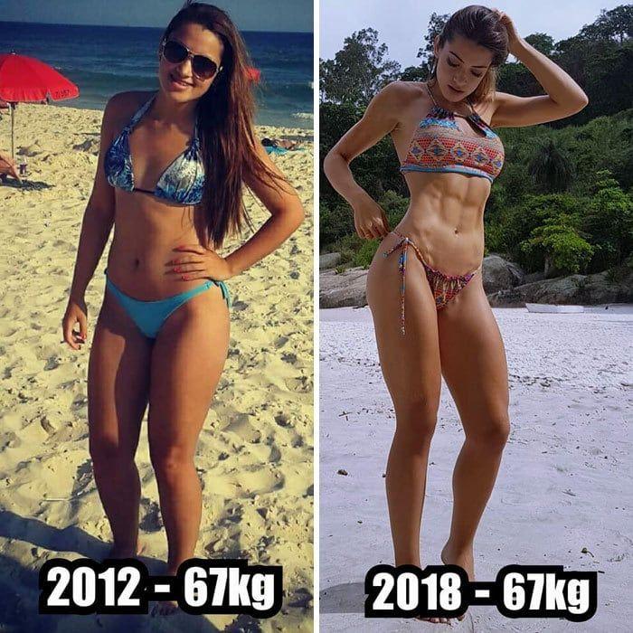 Девушки изменились до неузнаваемости не сбросив ни одного килограмма (15 фото)