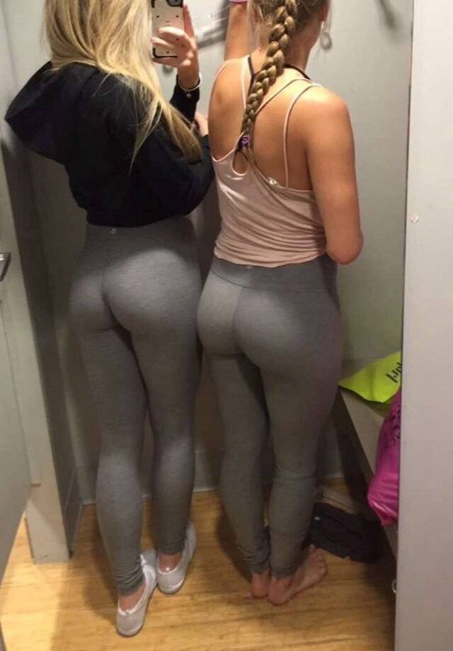 Candid Leggings Shorts And Yoga Pants Vporn 1