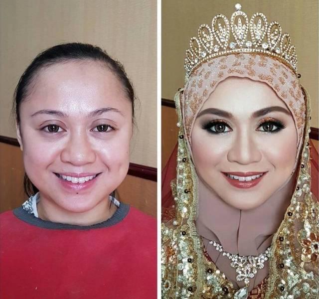 Девушки без грима и макияжа