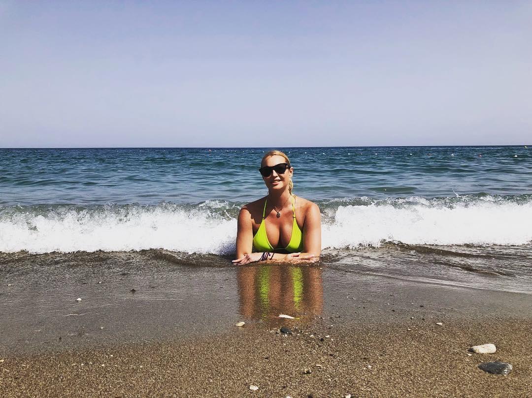 Анастасия Волочкова на фото из Instagram