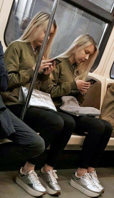 Прикольная Мода в Российском Метро (28 фото)