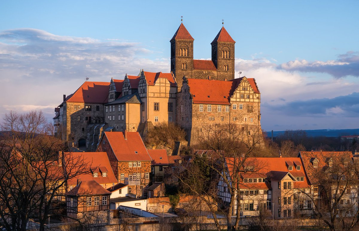Кведлинбург, Германия / Quedlinburg, in Germany (13 фото)