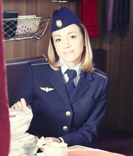 Русские Девушки в Поездах (19 фото)
