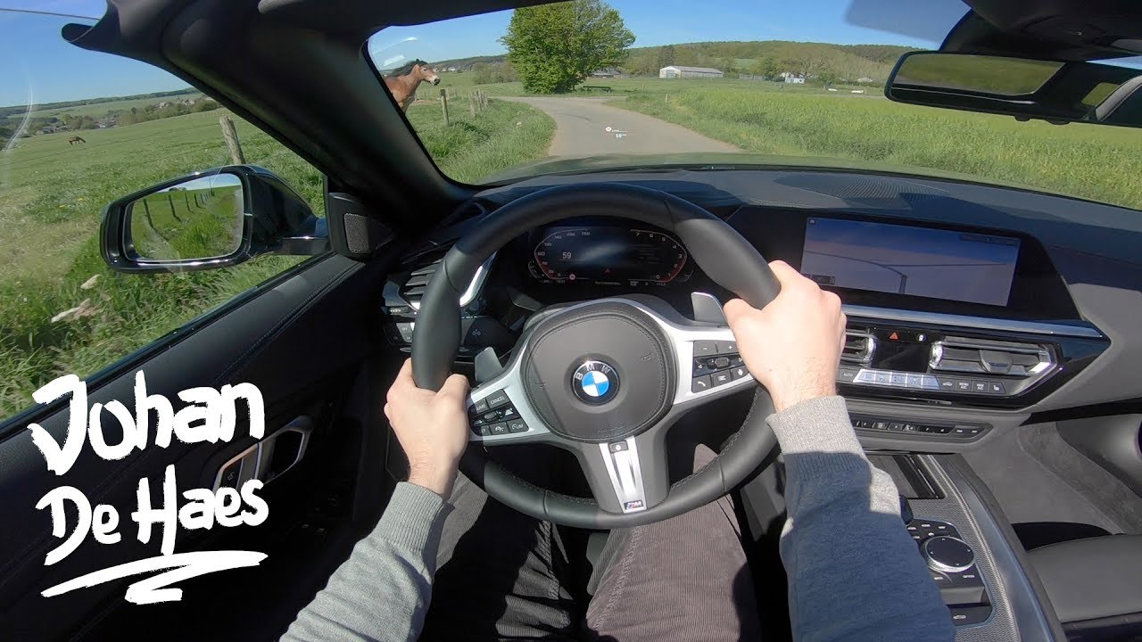 BMW Z4 M40i 340 hp POV Test drive