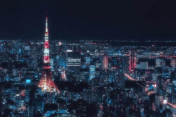 Ночной Токио в снимках Davide Sasso (27 фото)
