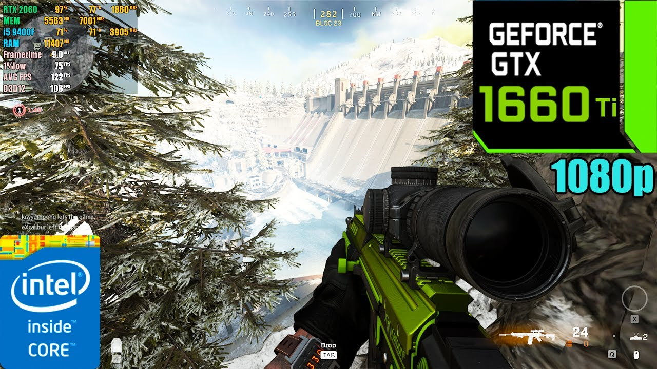 Call of Duty : Warzone Battle Royale | GTX 1660 Ti 6GB ( Ultra Graphics )