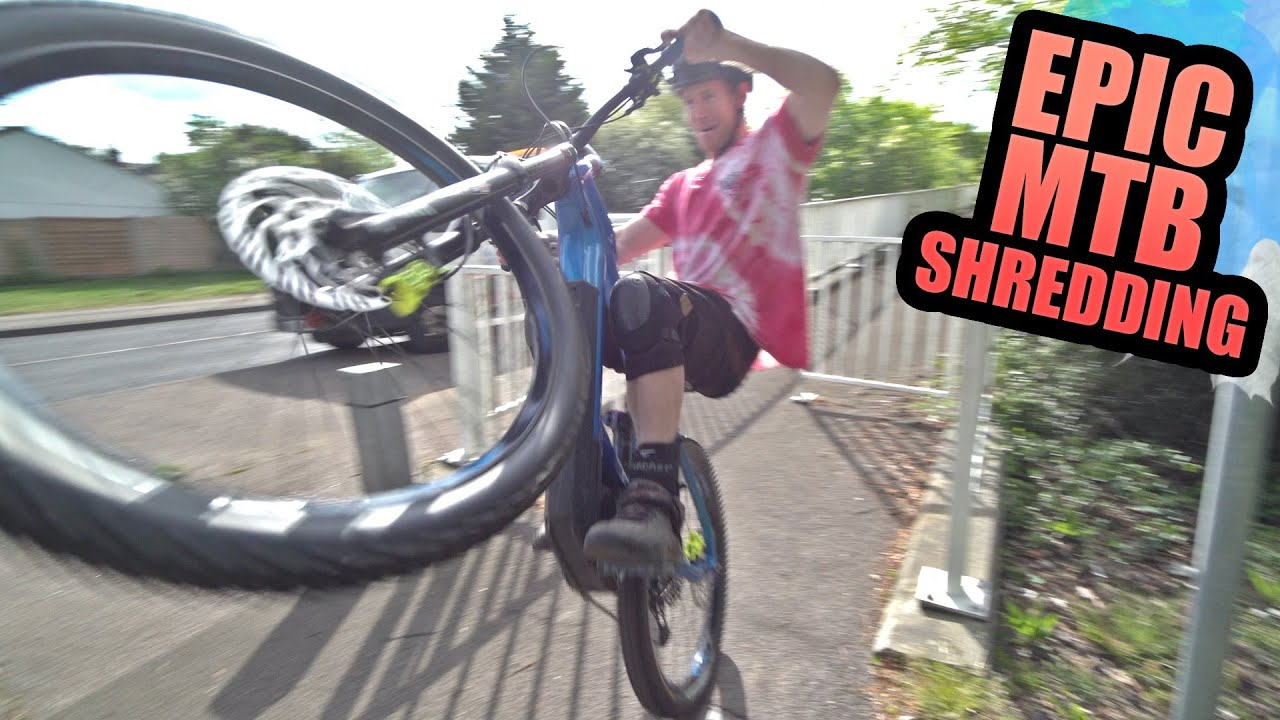 EPIC MTB SHREDDING - TRAIL CRASHES AND URBAN SENDING