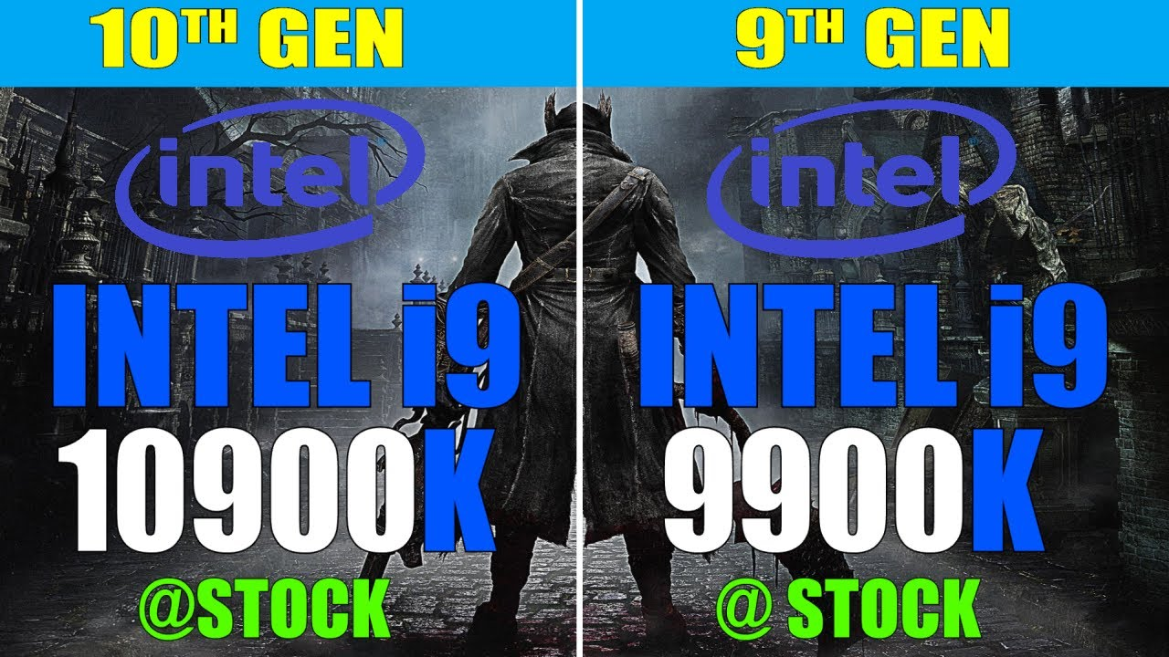 INTEL i9 10900K vs INTEL i9 9900K I PC GAMES TEST |