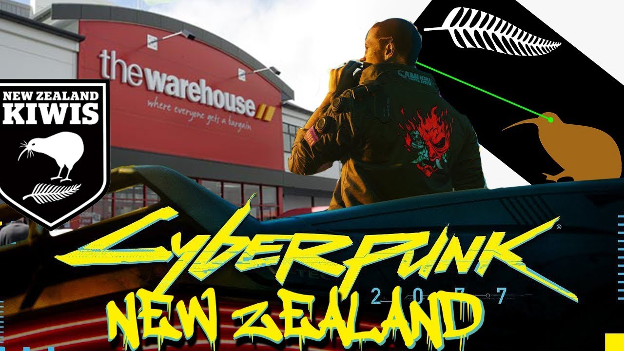 Cyberpunk 2077: New Zealand Edition