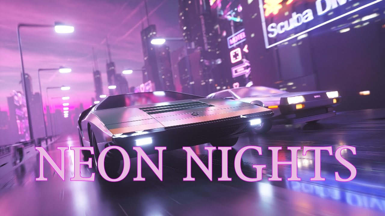 NEON NIGHTS | A Synthwave and Retro Electro Mix