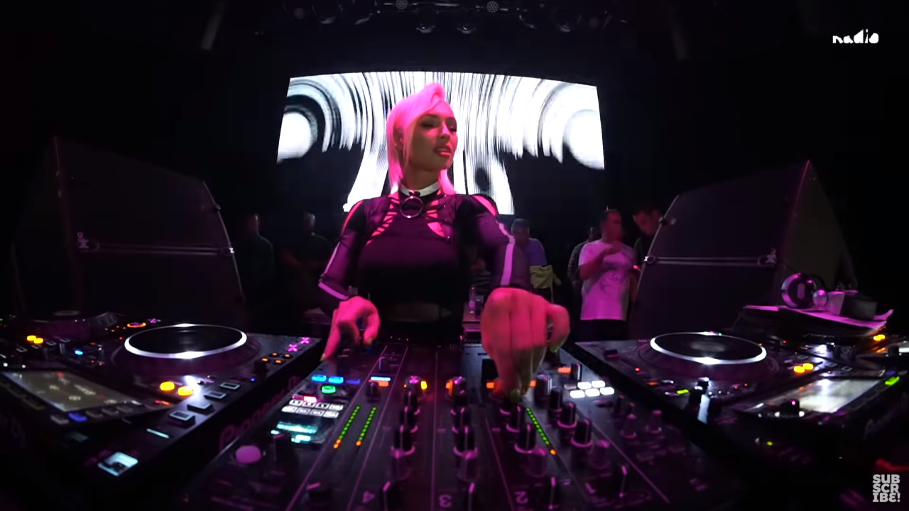 Marika Rossa - Live @ Ekho club, Madrid, Spain 18.10.2019 // Techno Mix