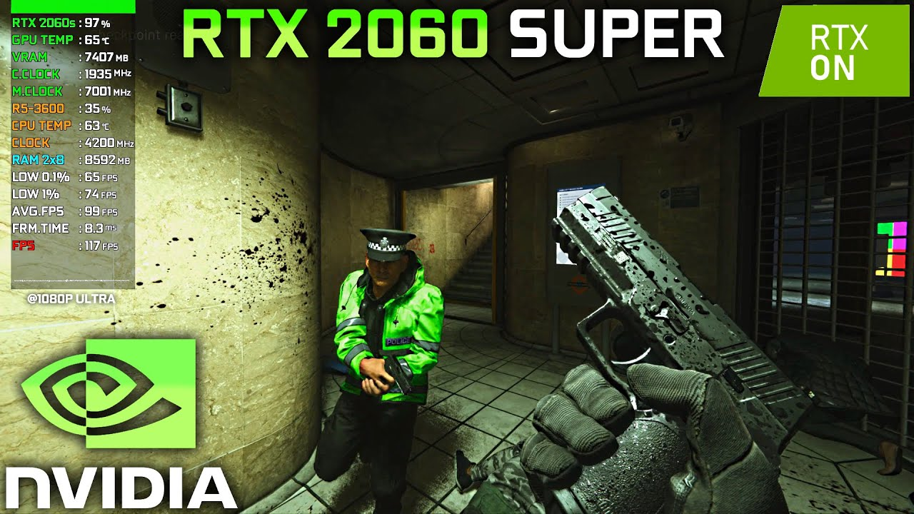 RTX On/Off - Test in 7 Games on RTX 2060 Super (Ray Tracing)