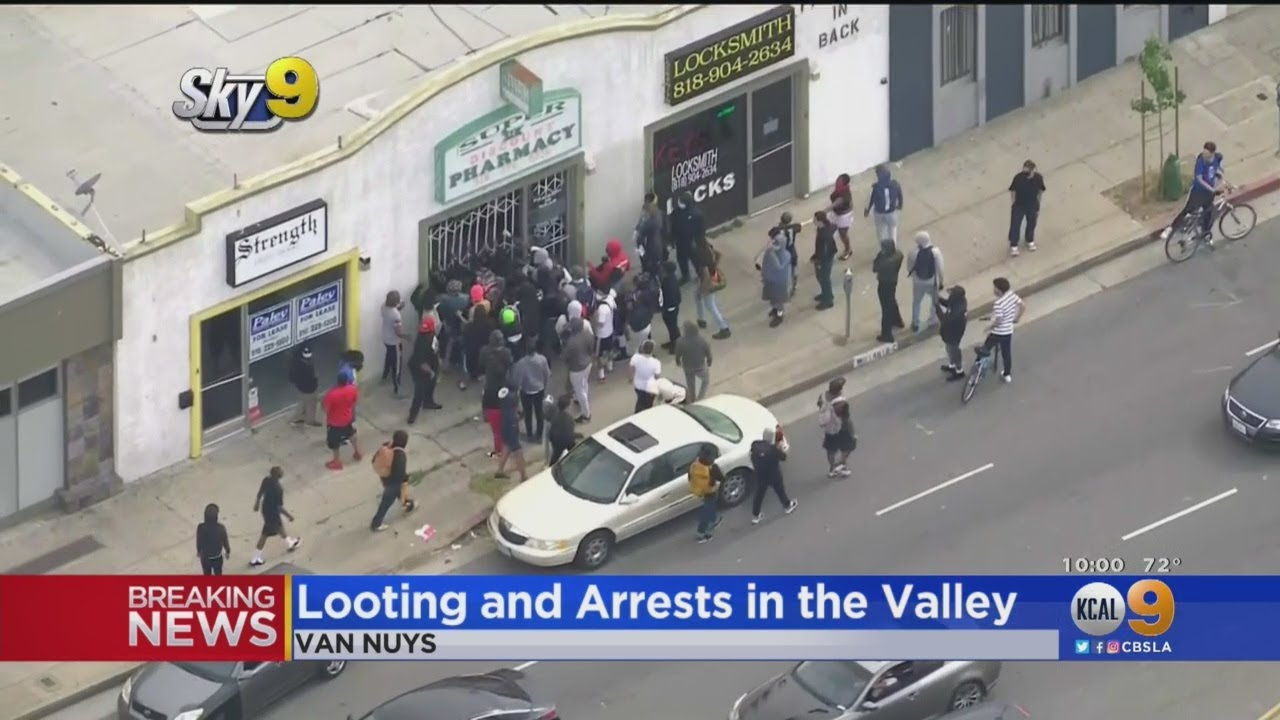 Looting, Arrests And Protests: Demands For Justice In George Floyd's Death Reaches Van Nuys