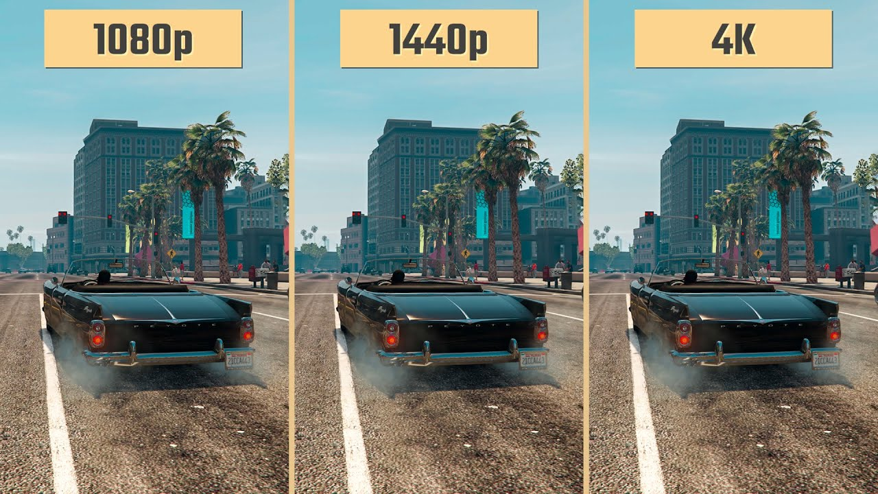 GTA 5 1080p vs. 1440p vs. 2160p 4K | RTX 2060 (Performance Comparison)