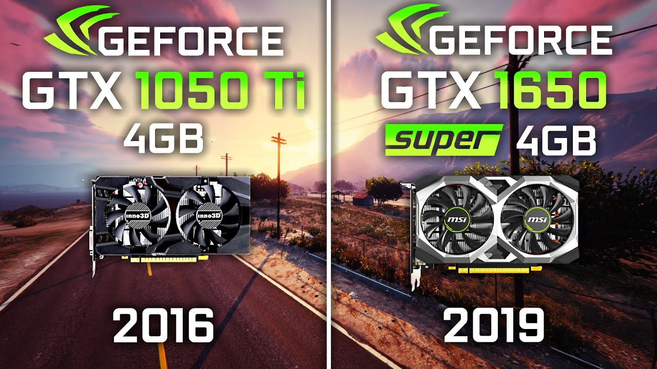 ФПС ТЕСТ - GTX 1050 Ti vs GTX 1650 Super Test in 10 Games