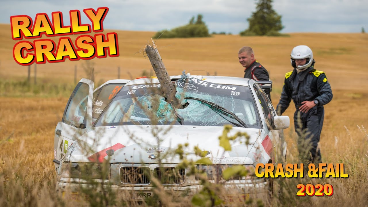 Аварии в Ралли - Compilation rally crash and fail 2020 HD Nº 15 by Chopito Rally Crash