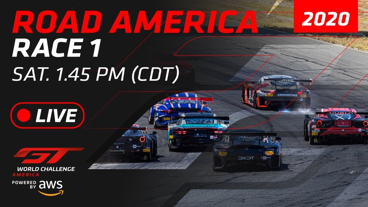 RACE 1 - ROAD AMERICA - GT WORLD CHALLENGE AMERICA 2020