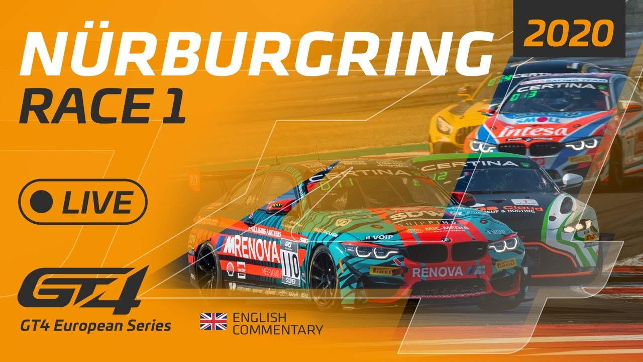 RACE 1 - GT4 EUROPEAN SERIES - NURBURGRING 2020 - ENGLISH