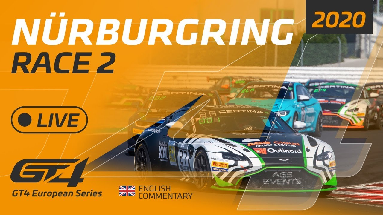 RACE 2 - GT4 EUROPEAN SERIES - NURBURGRING 2020 - ENGLISH