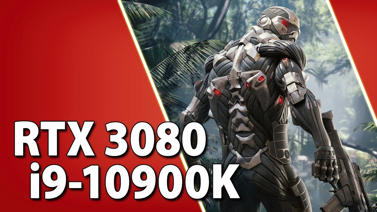RTX 3080 + i9-10900K // Test in 10 Games | 1080p, 1440p, 4K