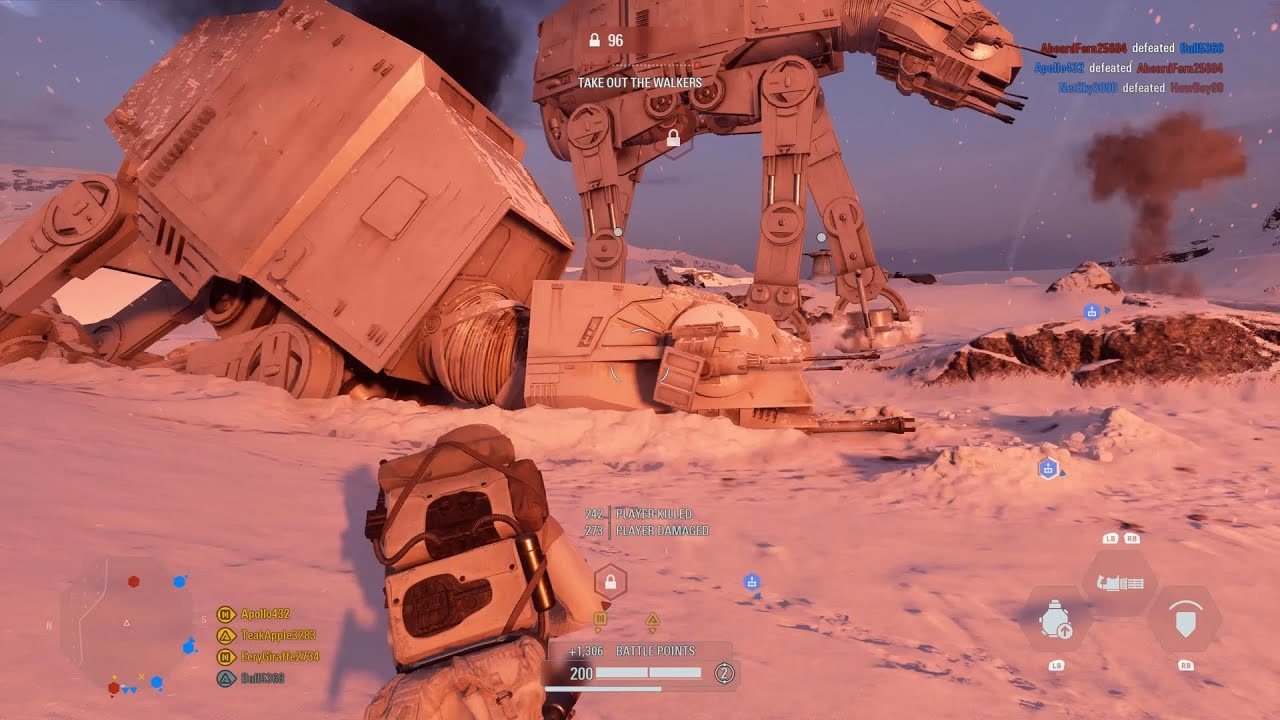 Звёздные Войны Star Wars Battlefront 2: Galactic Assault Gameplay No Commentary