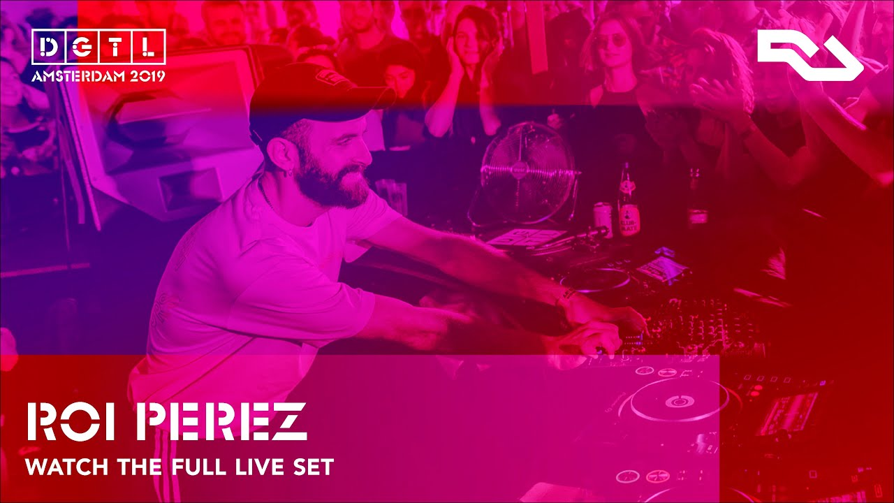 ROI PEREZ | Live set at DGTL Amsterdam 2019 - Gain by RA stage