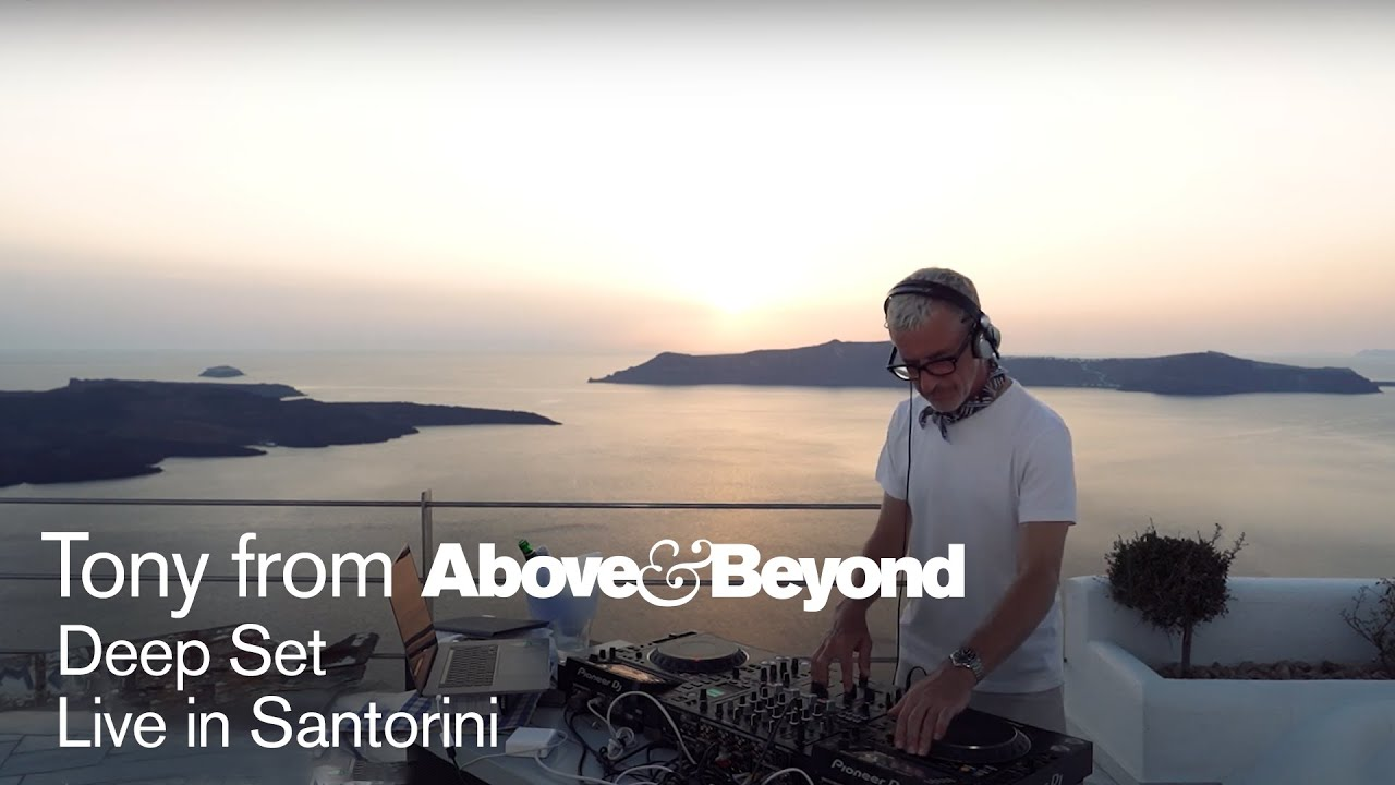 Tony from A&B: Deep Set 16 in Santorini, Greece | 3 hour livestream DJ set [@Anjunadeep]