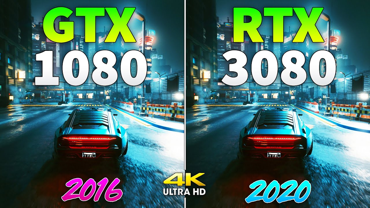ФПС ТЕСТ - GTX 1080 vs RTX 3080 - How Big is the Difference?